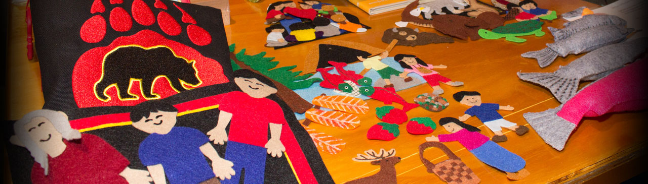 Aboriginal Resources - Felt People & Animals