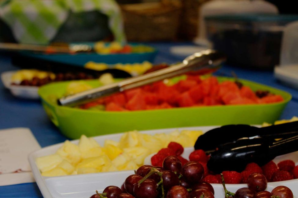 Food at the Naming Ceremony